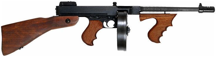 Mitraillette Thompson M1921 - .45