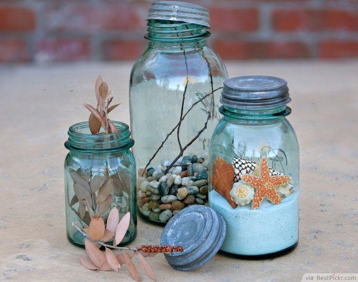 Wedding Ideas Using Mason Jars: 913 Best Beach Wedding Ideas Images On Pinterest