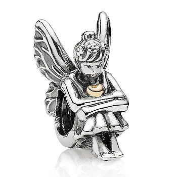 BEAD S/S & 14Y GREEK MYTHOLOGY NATURE SPIRIT WITH 14Y HEART - Jons Family Jewellers