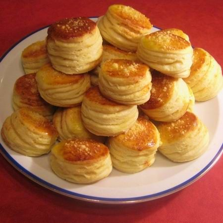 Pogacsa (Hungarian Cheese Biscuits)