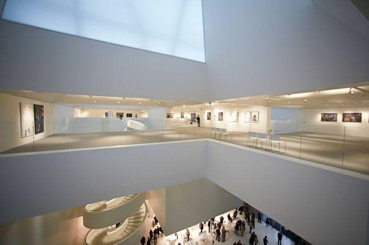 The  Philharmonic Hall in Szczecin, Poland, designed by the Italian architect firm Barozzi Veiga Studio.