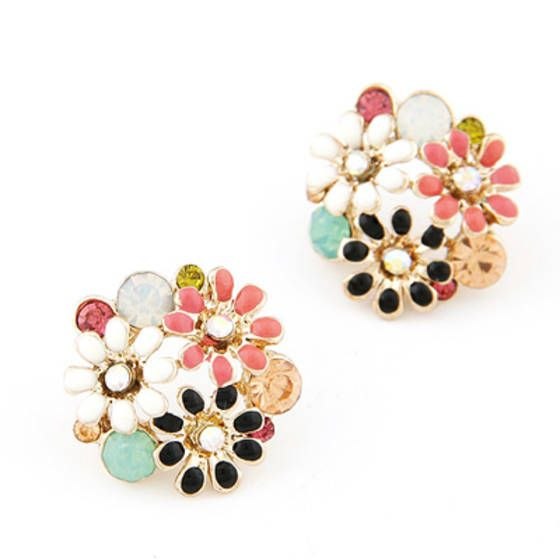 Fave Multicolor Three Chrysanthemum F...   Shopo.in