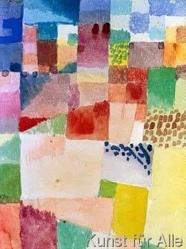 Paul Klee - Motiv aus Hammamet