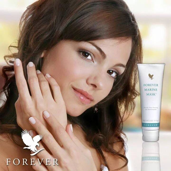 Forevers marine mask ... Food for the skin!!!!  Treat your skin to the goodness of aloe & natural sea minerals!!  www.aliveraforever.flp.com