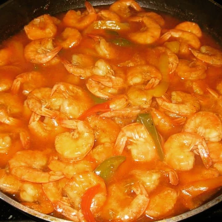This Trini Style Pepper Shrimp recipe is a dish that came about by the Chinese influence in Trinidad , even though the dish derived from the Chinese . Trinidadians made it their own way by adding t…