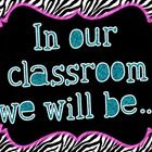 These posters are a great way to display your classroom expectations for your students! Print them out and tape them to your wall, create an eye ca...