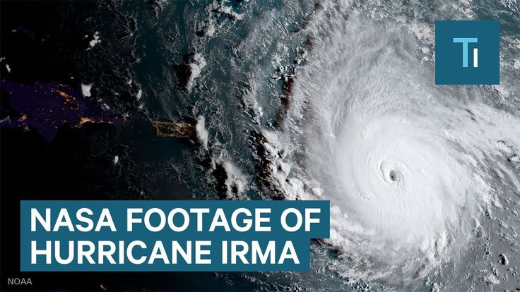 NASA footage shows a 'potentially catastrophic' Hurricane Irma https://youtu.be/EbTfDFSMiKg