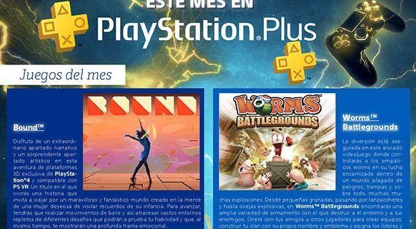 Worms Battlegrounds, Bound yUntil Dawn Rush of Blood los juegos gratis en Noviembre del 2017 con Playstation Plus