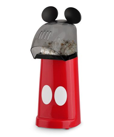 Look what I found on #zulily! Red & Black Mickey Popcorn Popper #zulilyfinds