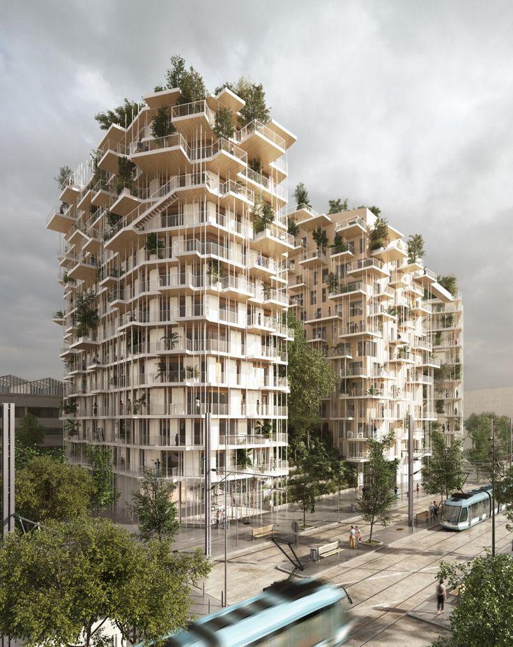 Sou Fujimoto Architects and Laisné Roussel - Canopia