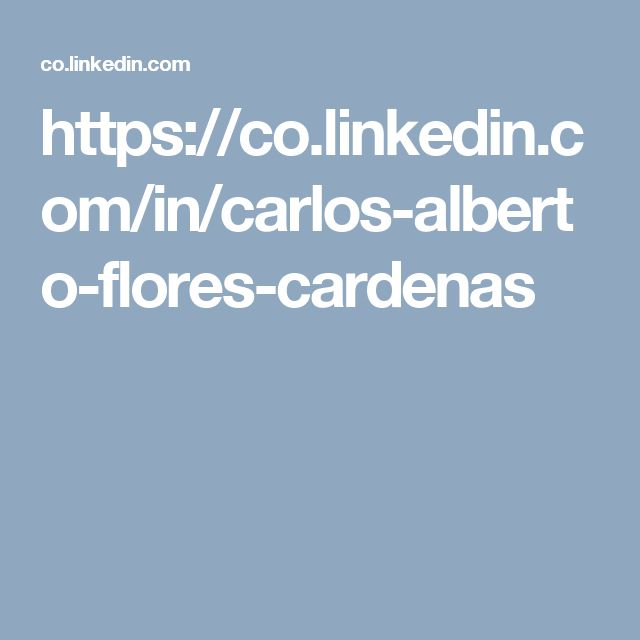 https://co.linkedin.com/in/carlos-alberto-flores-cardenas
