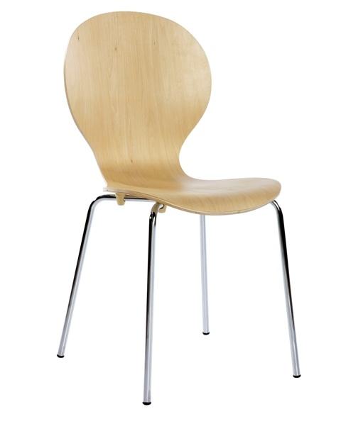 Silla madera natural   #silla #muebles #madera