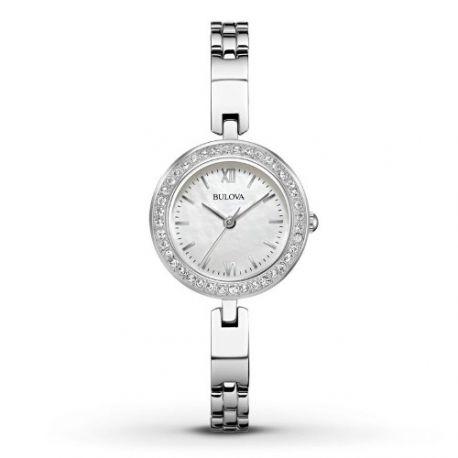 Reloj Bulova Plateado-Acero  98X107