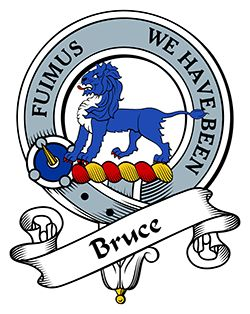 Bruce Family Crest apparel, Bruce Coat of Arms gifts