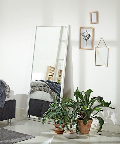 Spejl OBSTRUP 68x152cm hvid