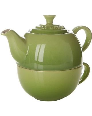 Tea for One Individual Pieces Cookware (Green)
