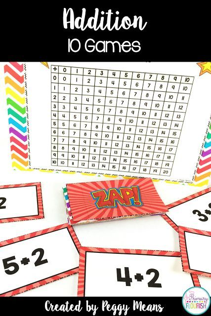 These games provide a fun, engaging way for your students to increase their math fact fluency by mastering addition mental math strategies. There are 10 games, one for each mental math strategy, so differentiation is easy. These games also gives your students practice in using the addition chart to check each other's answers.