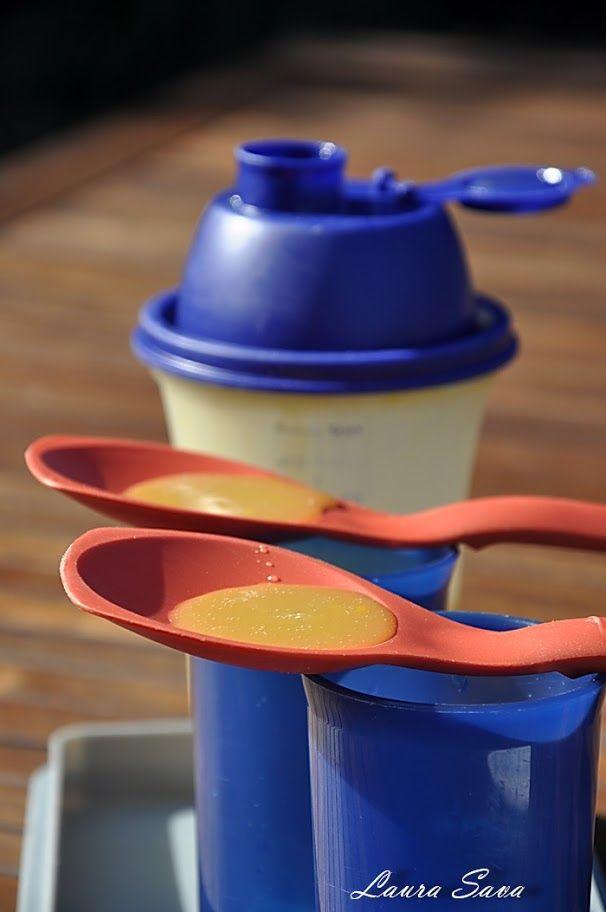 """Astazi va aduc in atentie inca o reteta desprinsa din """"retetarul"""" Tupperware: lichior de oua instant!!! Nu va ingrijorati daca nu aveti mixerul magic, cu care, de altfel, se pot face si alte bunatati: frisca, maioneza…fiindca acest super-rapid lichior se poate prepara si intr-un simplu shaker sau chiar cu ajutorul mixerului. Este perfect pentru prajituri …"""