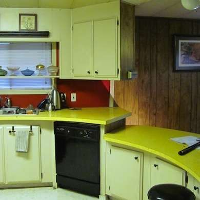 Vintage Before and After Totally Amazing Mobile Home Makeovers