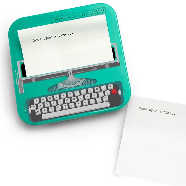 Our swinging Wrote-a-Note Vintage Typewriter Sticky Notes was thoughtfully constructed by a top team of scientists working around the clock with just one goal; to make sure you never forget stuff.