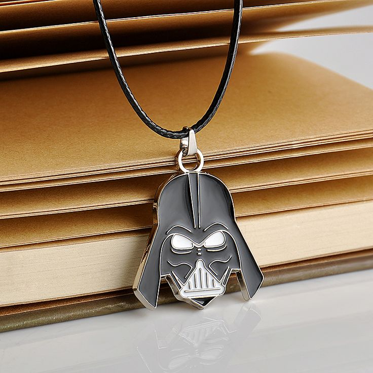 2016 Dota 2 The Force Awakens Stormtrooper Black White Masks Pendant Necklace Statement Necklace Game Jewelry men's Gifts