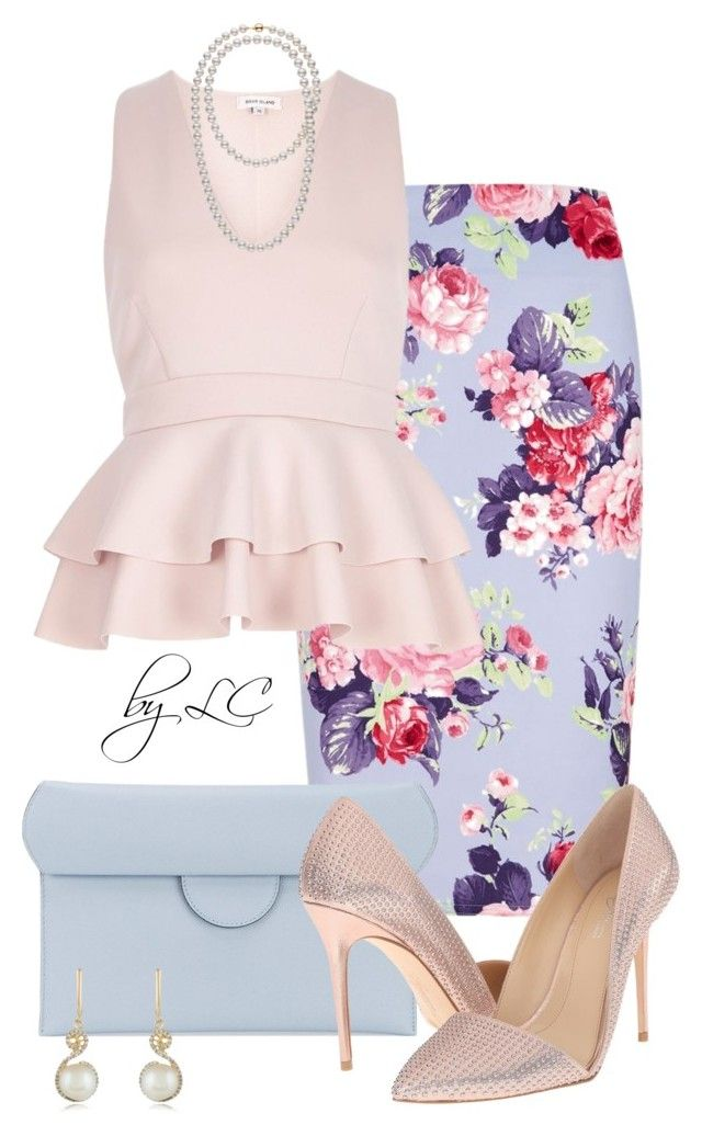 """Easter"" by explorer-14541556185 ❤ liked on Polyvore featuring Roksanda, Imagine by Vince Camuto and Effy Jewelry"