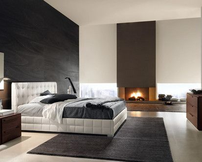 Chantal Bed From 944 In Eco Leather, Contemporary Bedroom