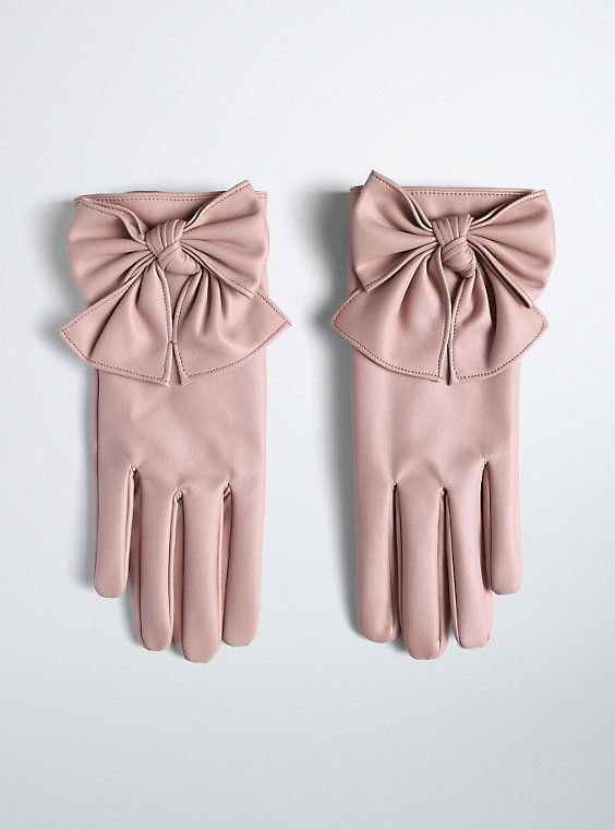 Love these!  Bow Gloves