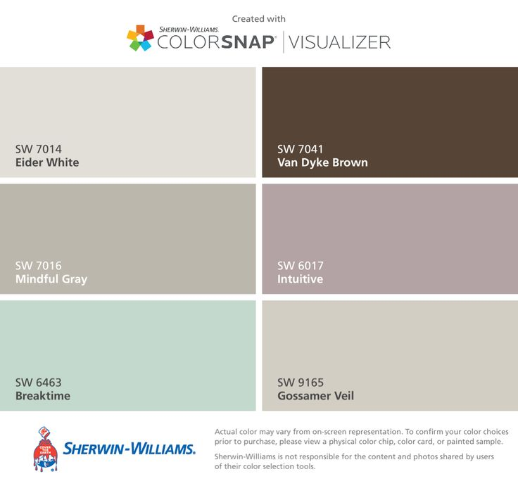 Bathroom paint ideas behr - Mindful Gray Hallway Stairway Color I Found These Colors With