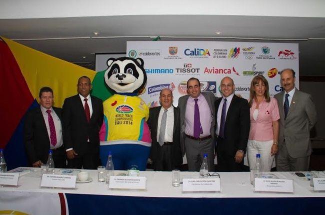 Presentado el Campeonato Mundial de Ciclismo de Pista UCI Cali 2014.