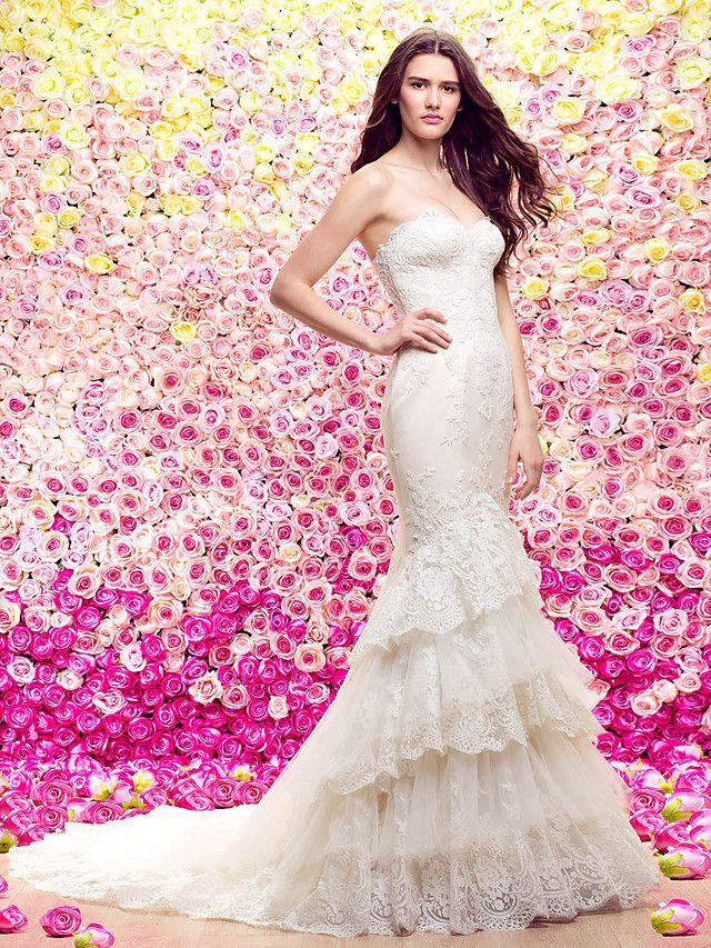 Mejores 51 imágenes de Wedding dresses en Pinterest | Vestidos de ...