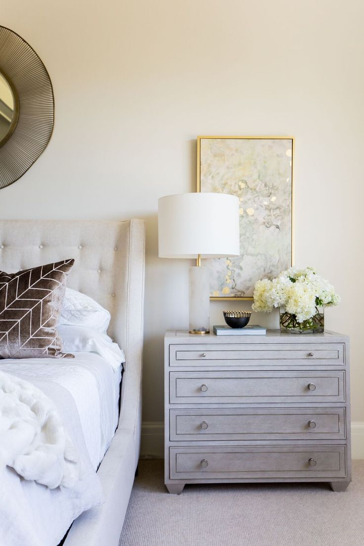Inside Emily Jackson's spa like bedroom! Designed by Alice Lane  Photo by Lindsay Salazar
