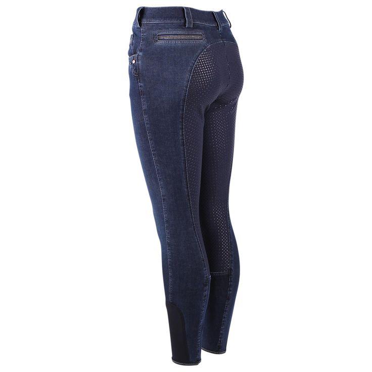 Rijbroek Pikeur Darjeen Jeans Siliconen - Rijbroeken - Kleding & accessoires - Ruiter - Epplejeck