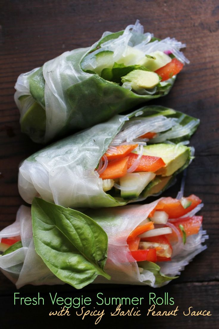 17 Best images about Peanut Sauce and Spring Rolls on ...