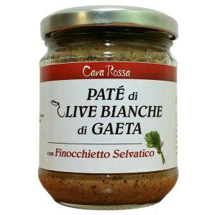 Paté di Olive Bianche di Gaeta con Finocchietto Selvatico