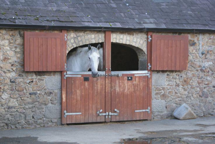 Ireland Barn Garage Doors Horses