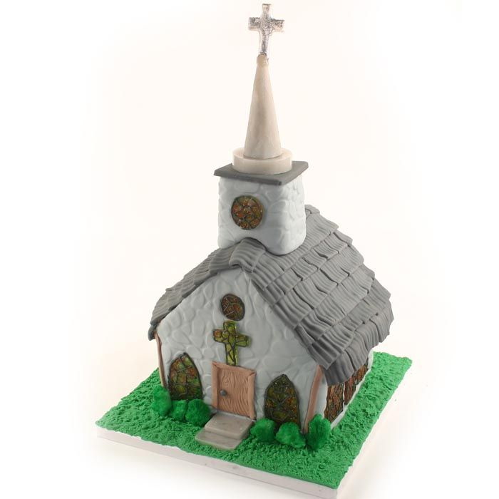 Cobblestone Church Cake