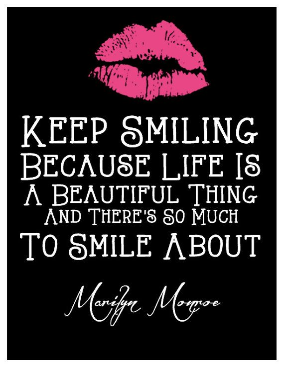Marilyn Monroe Wall Quote Decor by VegasCreative on Etsy, $13.00