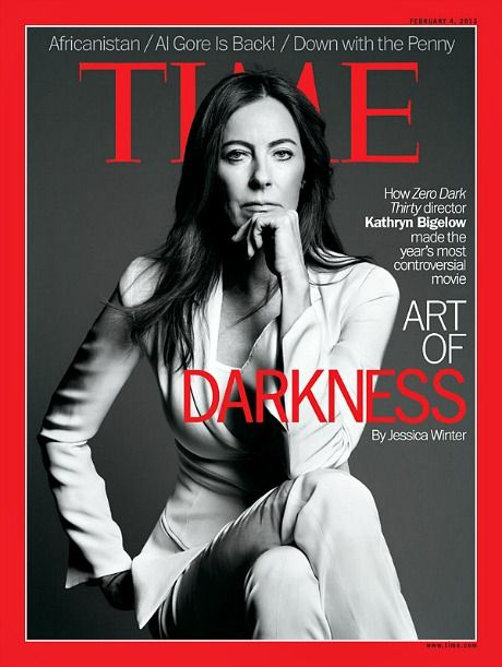 kathryn bigelow on the cover of time.