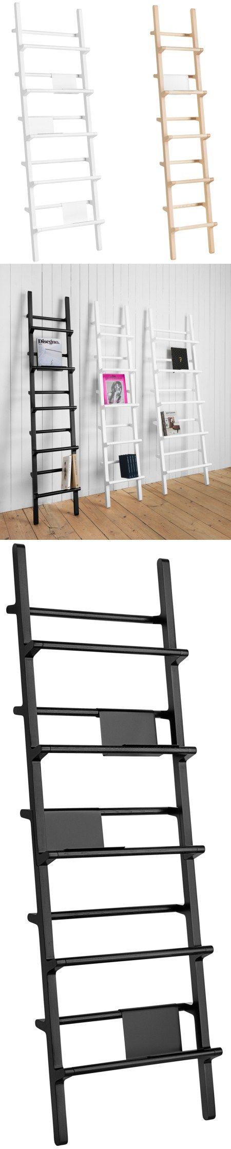 Multi-purpose ladder bookshelf