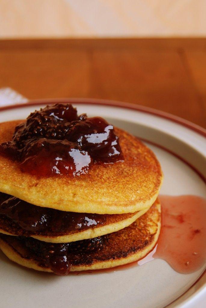 Cornmeal Pancakes With Ham Recipes — Dishmaps
