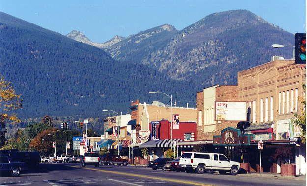 Hamilton, Montana; my inspiration for Madison Falls, Montana.