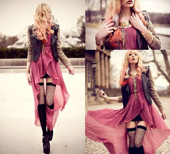 : Knee High, Outfits, Linatesch, Style, Color, Bracelets, Be Free, Lina Tesch, Thighs High