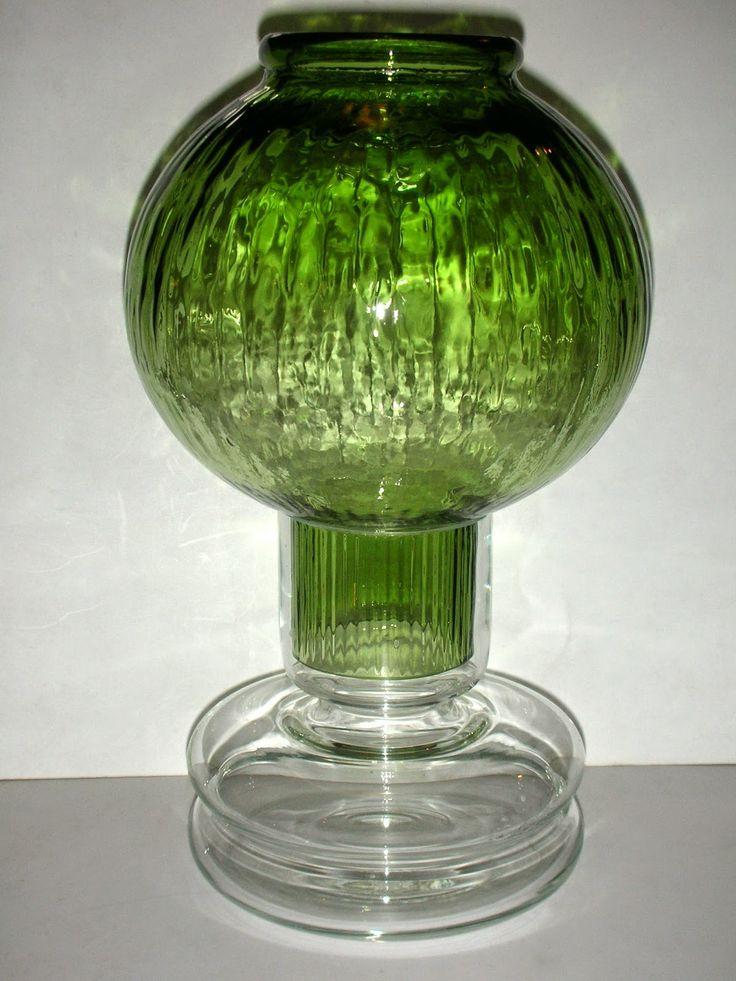 SKYSCRAPER CAPE TOWN - 20th CENTURY CLASSICS: Riihimaen Lasi Tuikku Lantern by Nanny Still Finla...