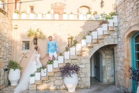 Fairytale wedding at traditional private estate in Crete. MOMENTS www.weddingincrete.com