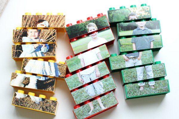 Leuk om zelf te maken voor de kids: LEGO foto puzzels