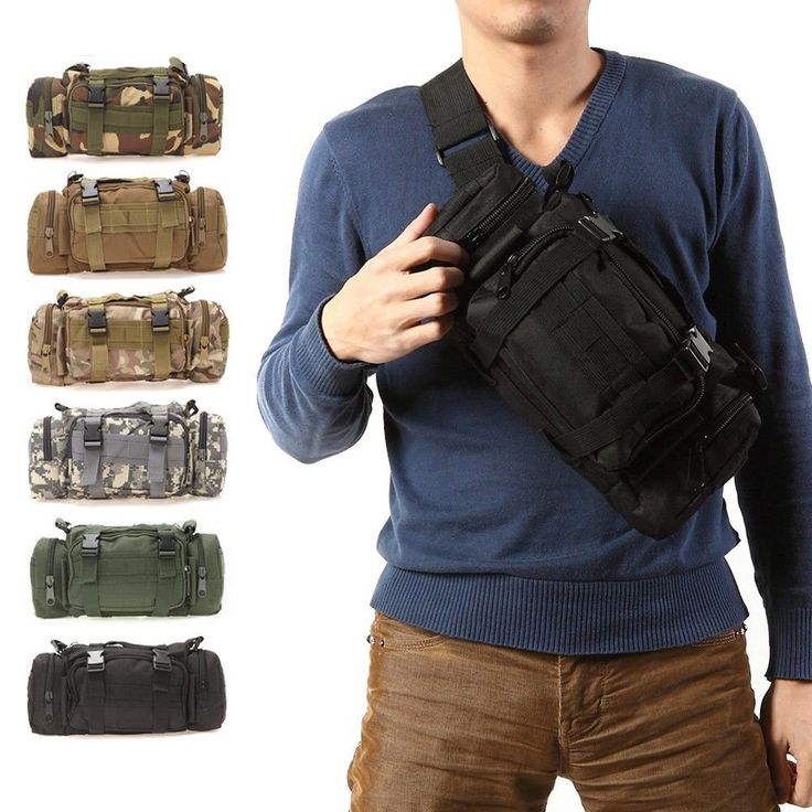 Outdoor Military Tactical Waist Pack 3L Waterproof Oxford Molle Camping Hiking Pouch Backpack Bag Waist Bags mochila militar  ** Click the VISIT button to enter the website