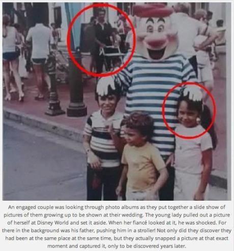 amazing coincidences.