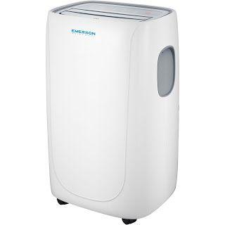 """Features & Benefits"" Emerson Quiet Kool EAPC12RD1 12,000 Btu Portable Air Conditioner"