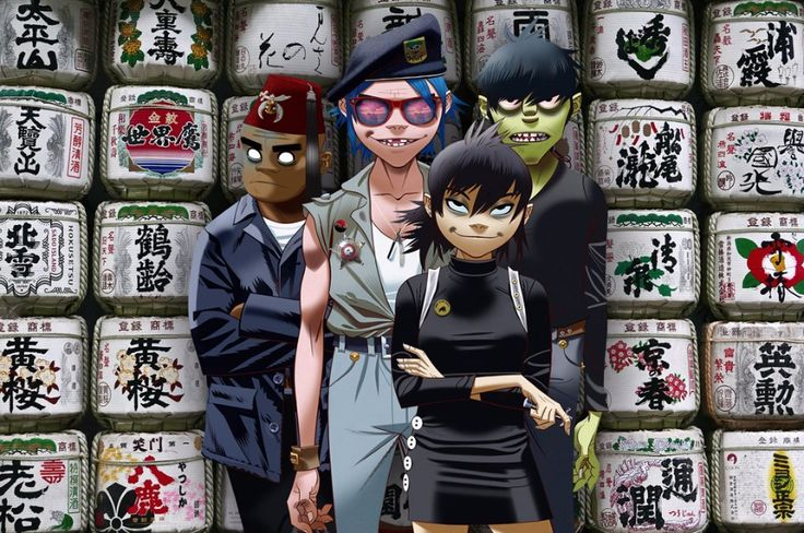 """British virtual band Gorillaz dropped a new song """"Strobelite"""" with Chicago-based singer Peven Everett from their fifth album """"Humanz""""."""
